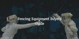Beginner Fencing Equipment Buyers Guide Fencing Net