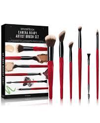 7 pc camera ready artist brush set