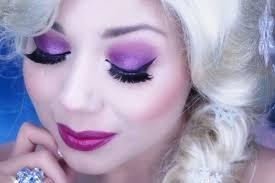 transform into queen elsa with makeup