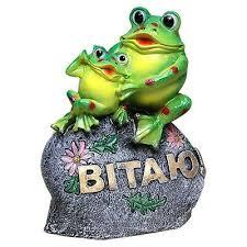 frog figurine statue garden zen
