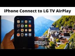 connect iphone to lg smart tv airplay