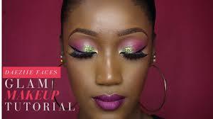 full face makeup glam wedding guest