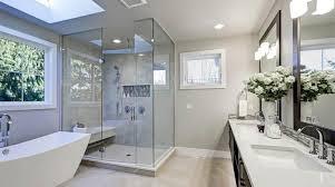 glass shower door ideas for small bathroom