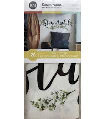 York Wallcoverings Wall Decals Stay Awhile Quote Joann