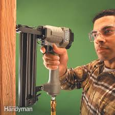 how to use a trim nailer gun diy