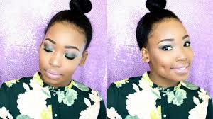 graduation makeup tutorial for black