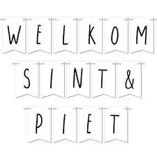 Mini Kaarten Diy Slinger Sinterklaas