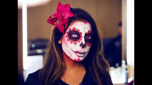 mexican sugar skull makeup tutorial