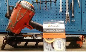 rebuilding a paslode powermaster nailer