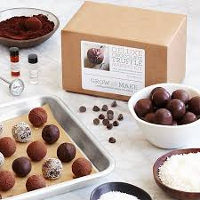 make your own chocolate truffles kit
