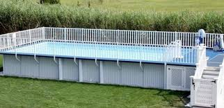 Pool Safety Fence Above Ground