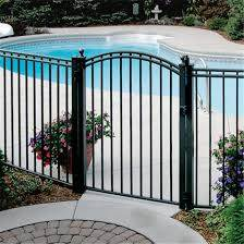 China Safety Fencing Metal Fence Aluminium Fence Panels Aluminum Fence Pool Fence China Garden Fence Security Fence