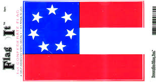 Stars Bars First Confederate Flag Decal Sticker Durable Vinyl From Flags Unlimited Us Flags