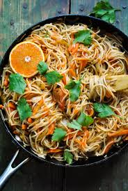 quick and easy vegan noodle stir fry