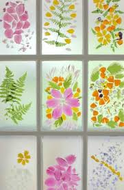 flower petal stained glass door a