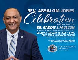 Reverend Absalom Jones Celebration - Saint Augustine's University