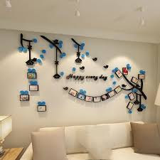 Hot Offer 5ed33f New Photo Tree Wall Sticker Living Room Decor Paster 3d Acrylic Wall Decals Family Tree Photo Frame Sticker Home Decor Wallpaper Cicig Co