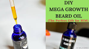 diy beard oil for co and curly hair
