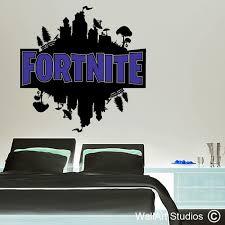 Fortnite Wall Decal Custom Gamer Wall Stickers Wall Art Studios