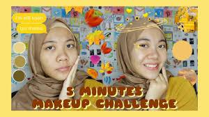 5 minutes makeup challenge bahasa