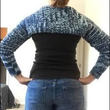 Handmade Sweaters   Knitted Shoulder Shrug   Poshmark