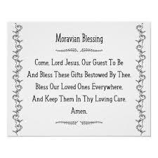 moravian blessing old m prayer