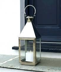 metal outdoor candle lanterns floor
