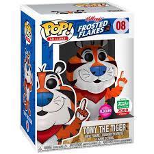 Kellogg S Funko Pop Ad Icons Tony The Tiger Vinyl Figure Flocked Walmart Com Walmart Com