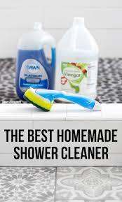 the best homemade shower cleaner