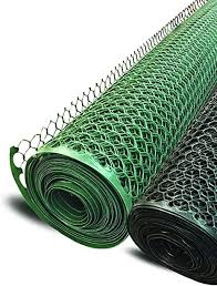 Amazon Com Garden Fence Boen Poultry Hex Netting Plastic Temporary Barrier Chicken Wire Protection Yard 2 X 25 Green Home Kitchen