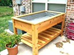 planter box designs diy square plans