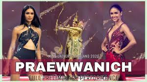 Praewwanich Ruangthong | FULL PRELIMINARY PERFORMANCE | Miss Universe  Thailand 2020 - YouTube