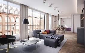 تحميل خلفيات شقق أنيقة الحديثة التصميم الداخلي للشقق غرفة