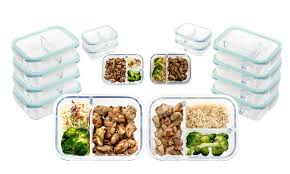 oven safe glass meal prep containers