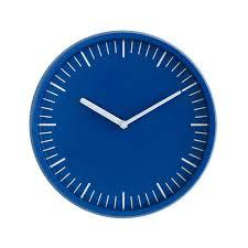 normann copenhagen day wall clock blue