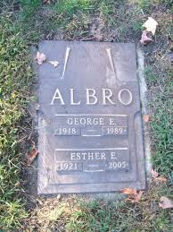 george edward albro 1918 1989