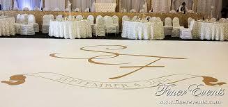 Vinyl Dance Floor Decor With Large Custom Monogram In Gold Ottawa Wedding Dancefloor Vinyl Flooring Custom Vinyl Dance Floor Wedding