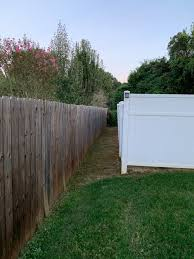 Landscape Idea For 2 5 Gap Between My Fence And Neighbors