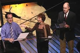 Jedidiah Cohen (Marty), Cheryl Stern (Sheila), and Ron Trenouth (Murray)  Photo (2005-09-15)