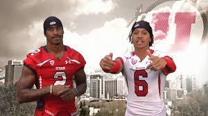 Dres Anderson & Kenneth Scott with Utah Football - YouTube