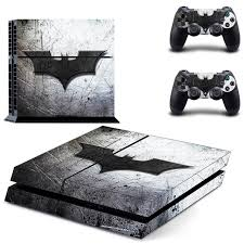 Ps4 Batman Sticker Vinyl Decal Protective Skin Cover For Sony Ps4 Console And 2 Dualshock Controllers Consoleskins Co