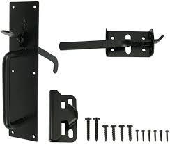Everbilt Black Heavy Duty Gate Thumb Latch Amazon Com