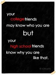 quotes about friendship in high school quotes