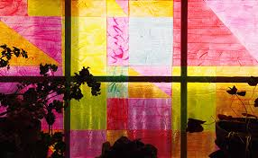 make it faux stained glass windows