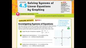 adv lesson 4 5 solving systems by