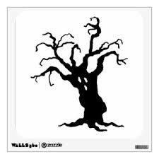 Creepy Tree Wall Decals Stickers Zazzle