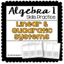 solving systems of linear quadratic