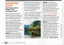 Prakash Masand in Oprah magazine - COPE