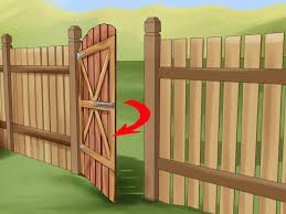 how to build a wooden gate 13 steps