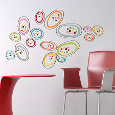 Osaka Colorful Shapes Wall Decal Wall Decals Wall Decor Decals Trendy Wall Art